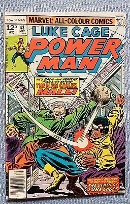 Luke Cage - POWER MAN #43 VFN- (Stunning Bronze age comic, flat glossy cover)