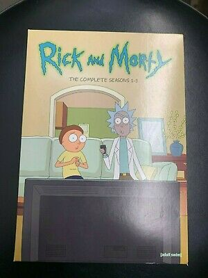 Rick and Morty The Complete Seasons 1-3 (DVD)