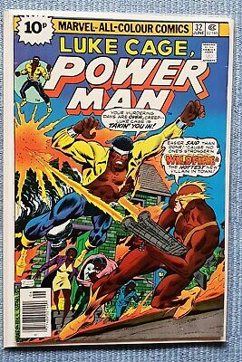 Luke Cage - POWER MAN #32 VFN- (Stunning Bronze age comic, flat glossy cover)