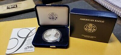 2008 American Eagle 1 oz. Proof Silver Dollar Bullion Coin-MIB with COA