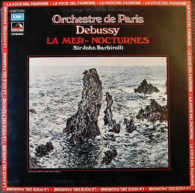 Music Reel Tape 2 Track Debussy La Mer Erich Leinsdorf Columbia