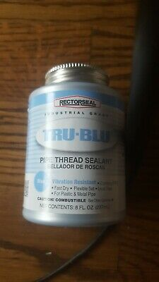 Rector Seal 8 Oz. True Blue Vibration Resistant Pipe Thread Sealant 31551