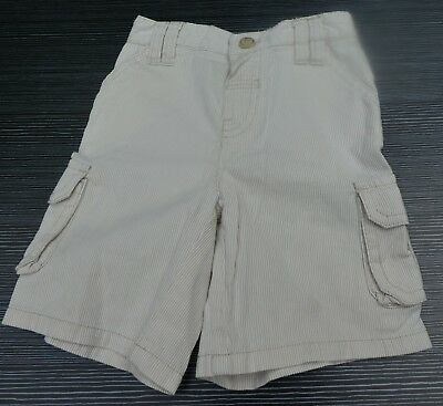 Mothercare Stone Stripe Shorts / Trousers Age 9-12 Months