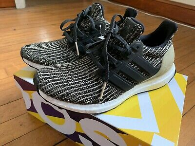 844761c38192d CP8776 Youth Adidas UltraBOOST J Primeknit Ultra Boost Running SZ 7Y Black  Gold