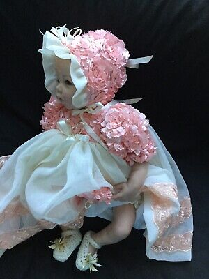Reborn Doll Dress Set Peaches N Cream. 19-21""