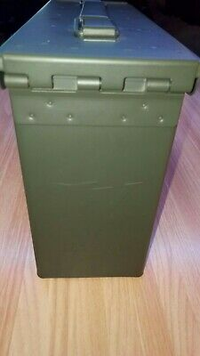 Winchester Original Ammo Box,  Metal Army Green