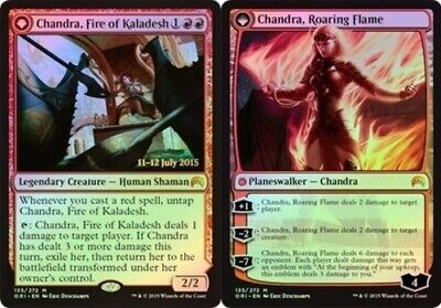 [1x] Chandra, Fire of Kaladesh // Chandra, Roaring Flame - Foil - Prerelease Pro