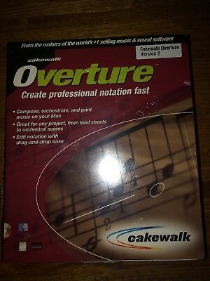 NEW SEALED VINTAGE Cakewalk Music Creator 2 Software NIB - $49 94
