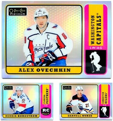 2018-19 OPC Platinum Retro Rainbow **** PICK YOUR CARD **** From The LIST
