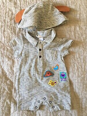 Hey Duggee Baby Romper And Hat Size 000