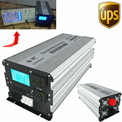Intelligent 3000W-16000W Pure Sine Wave Power Inverter DC 12V24V48V60V to AC110V