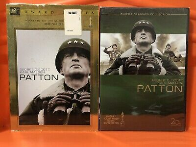 NEW!!! Patton (DVD, 2006, 2-Disc Set, Special Edition Gold O-Ring)