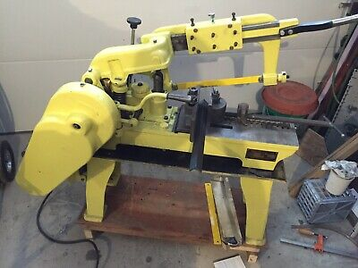 Racine 6x6 Power Hacksaw Completely Rebuilt from cast iron up. Great Machine.