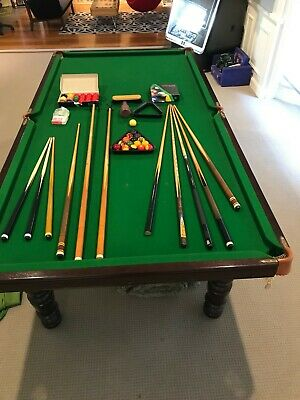 9ft Slate Pool Table plus complete setup...great condition