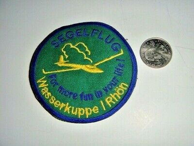 """Wasserkuppe Germany """"Rhon"""" Decal, 3 X 3.5 inches"""