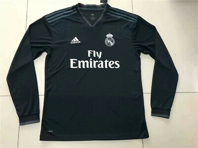 a2c9091c 2018/19 REAL MADRID CF Home Kit - Player version Long Sleeve - UCL ...