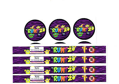 RUNTZ Cali Tin Labels Stickers / Tuna Can Labels *BEST QUALITY*