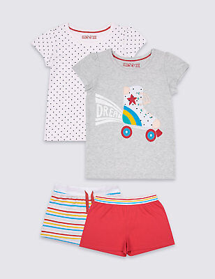 SALE! BNWT MARKS AND SPENCER GIRLS' BADGE PYJAMAS Age: 9 - 12 months RRP £16