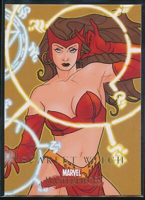 2008 Marvel Masterpieces 2 Trading Card #72 Scarlet Witch
