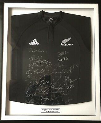 Signed All Blacks Rugby Jersey