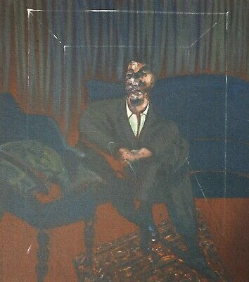 Francis Bacon, Seated Figure 1961, Hand Signed Lithograph
