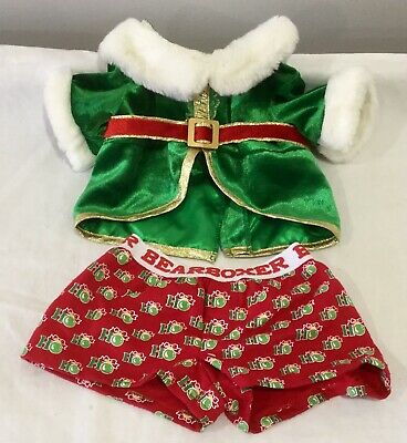 Build A Bear Christmas Santa Outfit
