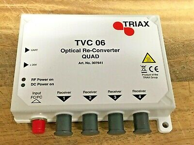 Triax TVC 06 - Mini Optical Re-converter Quad