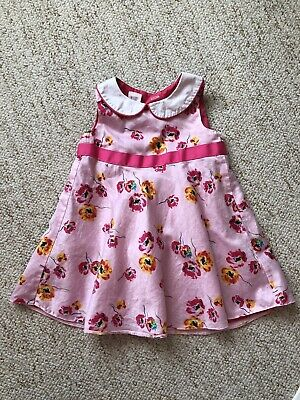 8909cc8b1 TED BAKER   BABY Girl s Pink Floral Dress 9-12Months - £2.60 ...