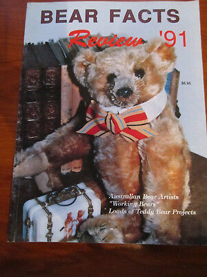 Old Teddy Bear Magazine Bear Facts Review 1991 *** Must See ******