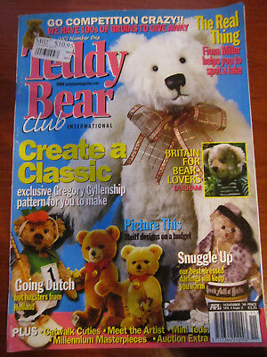 Old Teddy Bear Magazine November 1999  *** Must See ******