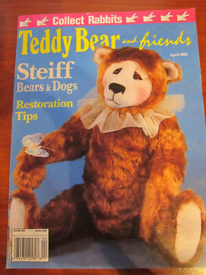Old Teddy Bear Magazine Teddy Bear And Friends April 1992  *** Must See ******