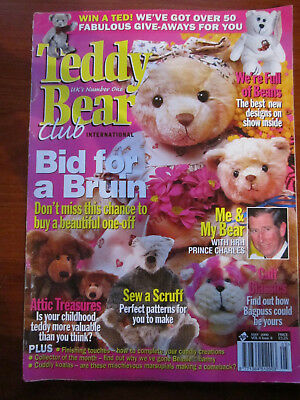 Old Teddy Bear Magazine May 2000  *** Must See ******