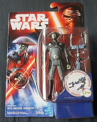 """Fifth Brother Inquisitor / Star Wars / Rebels / 3.75"""" Action Figure / 2015"""
