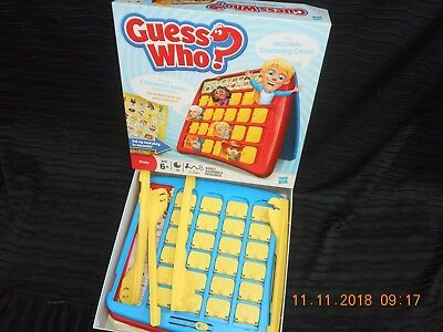 GUESS WHO? GREAT GAME by HASBRO, VVGC