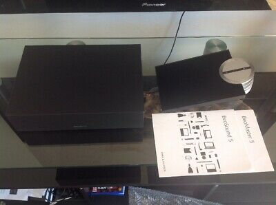Bang & Olufsen Beosound 5 & Beomaster 5  1TB With Wall Bracket