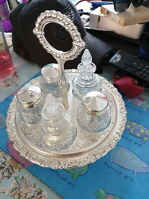 Silver Plate Tableware condiments