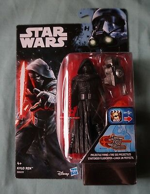 "Kylo Ren / Star Wars / Rogue One Card / 3.75"" Action Figure / 2016"