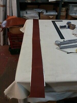 Tan Leather HIDE panel 3.3mm thick REENACTMENTS CRAFTS  lot 88