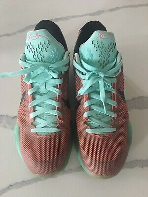 new concept 694bb 4b386 Nike Kobe X 10 Easter Pack Hot Lava Sunset Glow Mens SZ 13 705317-80