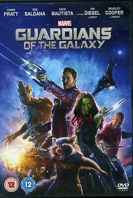 Marvel Guardians of the Galaxy Chris Pratt Bradley Cooper New Sealed DVD