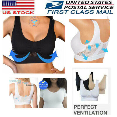 Hot Selling TV Products COMFORT AIRE BRA Wireless Sports Push Up S M L XL 2XL3XL