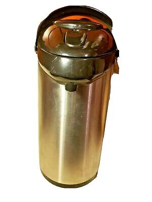 Air-pot Coffee Server 3.0-L Stainless Steel SSA300 Push Lid Catering Cafe