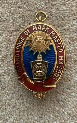 Grand Mark Lodge: Past Grand Overseer's Collar Jewel in good condition