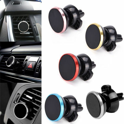 Universal 360° Magnetic Car Air Vent Holder Stand Mount For Mobile Phone GPS Hot