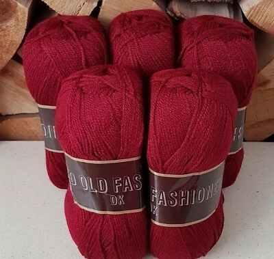 Good Old Fashioned DK navy blue Double Knitting Yarn 500g