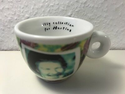 "illy Collection for HARTING ""Videogrammi"" by NAm JUNE PAIK, 1 Espressocup, NEU!"