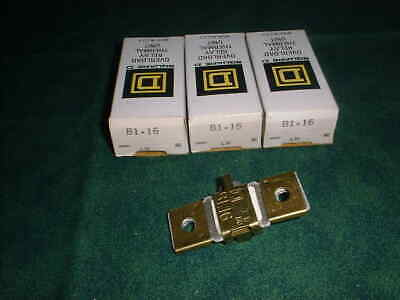 SQUARE D OVERLOAD RELAY THERMAL UNITS B1.16   W302