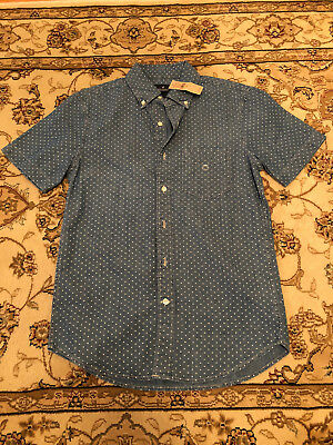658e9ea7 Mens American Eagle Short Sleeve Button Down Size XS Brand New w/ Tags