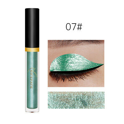 Sparkling Glitter Liquid Eyeliner Sexy Eye Party Wedding Makeup Colorful 07