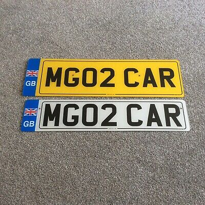 private number plate/cherished/MG02CAR on Retention